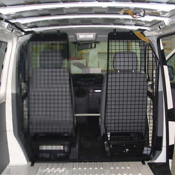 eurotech automotive trenngitter b s ule mit durchgang. Black Bedroom Furniture Sets. Home Design Ideas